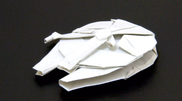 Millennium falcon - OrigamiYard - photo#2