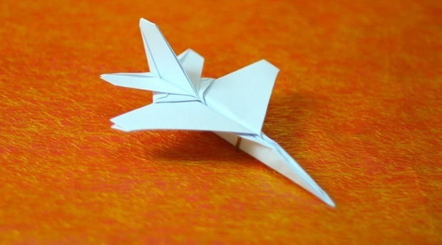 EASY F-15 Paper Airplane! How to make an Amazing Paper Jet ... | 344x620