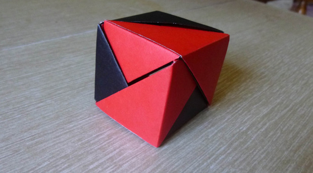 Ring Cube Puzzle Origamiyard